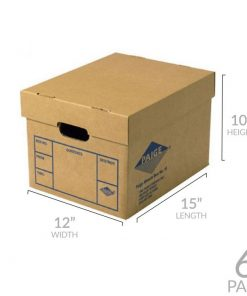FILE STORAGE BOXES 6 PACK 200# STRENGTH