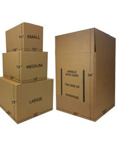 WARDROBE MOVING BOXES KIT #3