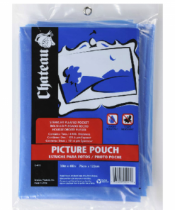 PICTURE POUCHES - 2PK