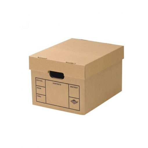 FILE STORAGE BOXES 10 PACK 200# STRENGTH