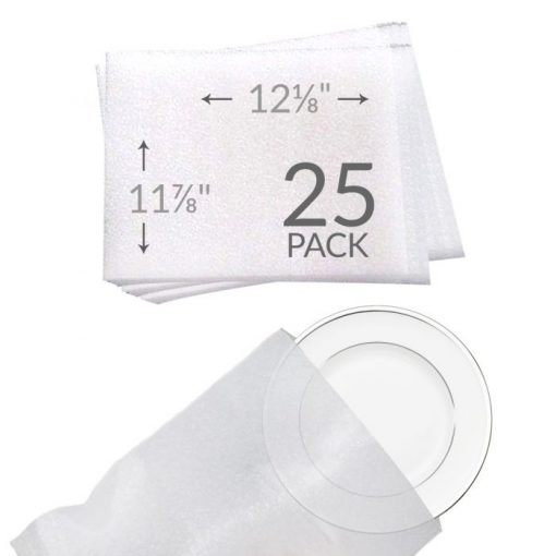 "11-7/8""X12-1/8"" FOAM POUCHES (25 PACK)"