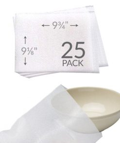 "9-1/8"" X 9-3/4"" FOAM POUCHES (25 PACK)"