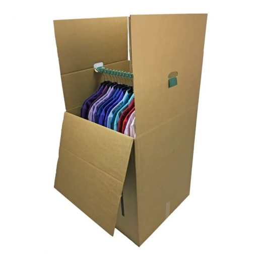 LARGER WARDROBE BOXES (BUNDLE OF 3) 24X24X40