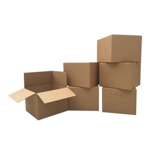 6 LARGE MOVING BOXES