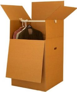 LARGER WARDROBE BOXES (BUNDLE OF 3) 24X24X40